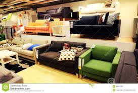 Couch Stores Modern Furniture Store Retail Shop Stock Photo Image 48657585
