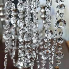 crystal garland for chandelier here for a larger view glass crystal garland for chandelier