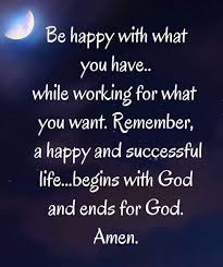 Life With God Yields Happiness And Peace Inspiration Life Quotes