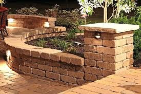 retaining wall lights retaining wall lights low voltage breathtaking good outdoor on solar for walls home