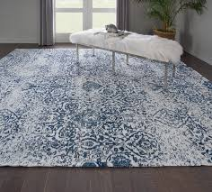 awesome kleinschmidt ivorynavy area rug reviews birch lane throughout navy area rug popular