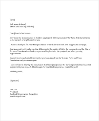 Sample Fund Raiser Thank You Letter 6 Examples In Word Pdf