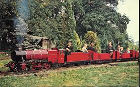 garden railway. bressingham garden railway (postcard) | by trainsandstuff