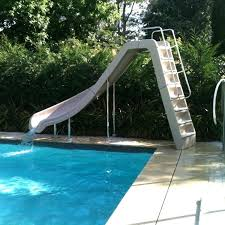 used pool slide image of residential swimming pool crane pool slide inflatable