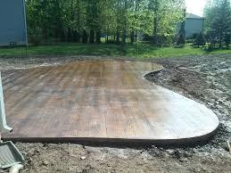 backyard concrete patio ideas beauty stamped concrete patio ideas