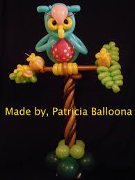 Owl Balloon Decorations Balloon Owl Patricia Balloona