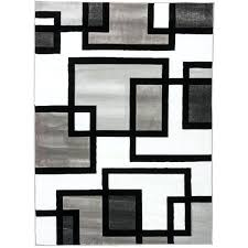 black and white area rug well woven blocks in blocks black white area rug x