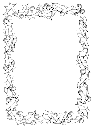 christmas clip art borders black and white. Plain Christmas Black And White Christmas Page Borders And Clip Art G