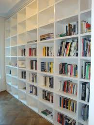 Photo 12 of 12 Build A Huge Temporary Wall Room Divider Bookcase Using Sing  Sandwich Panels - Non-warping