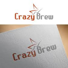 design freelancer modern masculine brewery logo design for crazy brew by mr