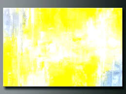 yellow and grey painting yellow and gray painting yellow wall art yellow and gray canvas wall yellow and grey painting