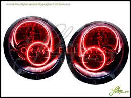 oracle 02 06 mini cooper led halo rings headlights bulbs