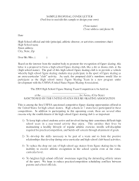 Sample Event Proposal Letter Competitive Analysis Format
