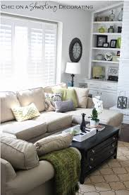 For A Living Room Makeover Chic On A Shoestring Decorating Client Living Room Makeover Reveal