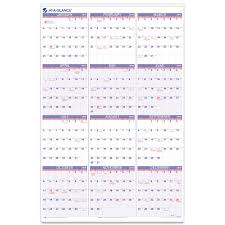Amazon Com At A Glance Yearly Wall Calendar 2015 24 X 36 Inch