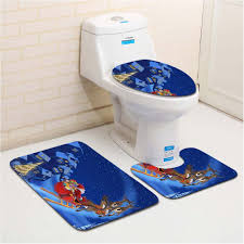 spectacular fancy santa toilet tank seat cover and rug bathroom set interesting composition fancy toilet seat covers