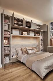 bedroom furniture fitted. This Stunning Contemporary Grey Bedroom Features Headboard Lighting And Overhead Storage. Furniture Fitted