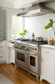 double oven with stove top. Contemporary Top Double Oven With Stove Top Transitional Kitchen And Bar Pulls Crystal  Cabinetry Ge Monogram Refrigerator To With S