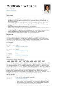 Information Technology Consultant Resume Samples Visualcv Resume