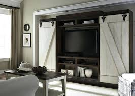 white barn door tv stand barn door entertainment center stunning commercial interiors wall unit centers home