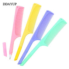 <b>4Pcs</b>/<b>lot Cute Creative</b> Comb Pen Ballpoint Pen Stationery Plastic ...