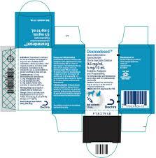 Dexmedetomidine Dose Chart Dexmedesed Dexmedetomidine Hydrochloride Sterile Injectable