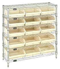 uline wire shelving shelf bin organizer elegant chrome wire shelving unit clear plastic bins bin wire