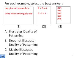 Duality Of Patterning Best Linguistics 48 Phonetics Ppt Download