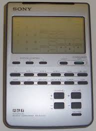 sony universal remote. picture of: sony rm-av2100 commander universal remote control rmav2100 and tech talk, -