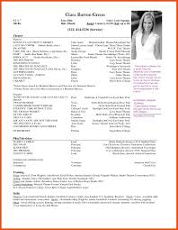 Theatre Resume Template Best Of 5 6 Actor Resume Template