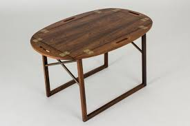 rosewood tray coffee table by svend