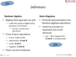Boolean Algebra Venn Diagram Part 1 Boolean Algebra Venn Diagrams Part 2 Starting