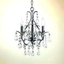 plug in chandelier mini 3 light crystal beaded plugs into wall plug in chandelier