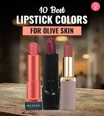 the 10 best lipstick colors for olive skin