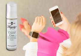 cleans the screens of smart watches smart phones and tablets also cleans crystal