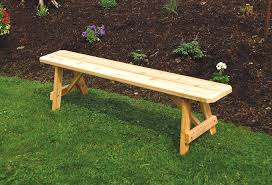 wooden patio bench wood patio bench red cedar traditional backless bench from wooden outside benches plans