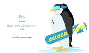 EVL - Electronic Visualization Lab
