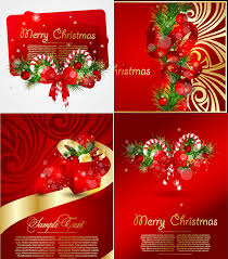 christmas cards backgrounds red christmas greeting cards vector vector graphics blog