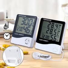 LCD Digital Temperature Humidity Meter <b>HTC</b> 2 <b>HTC</b> 1 <b>Indoor</b> ...