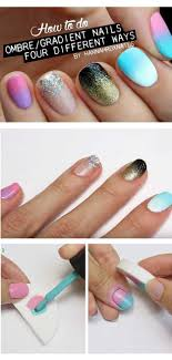 36 Best Tutorials For Ombre Nails - The Goddess