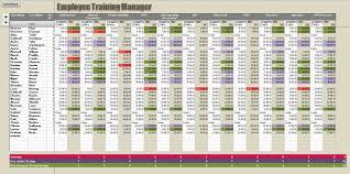 Tracking Employee Training Spreadsheet Aljerer Lotgd Com