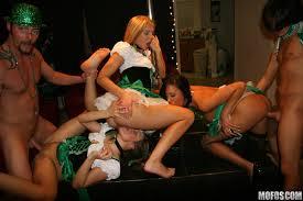 Real Slut Party Ashlynn Leigh And Tiffany Brookes St Patrick s day.