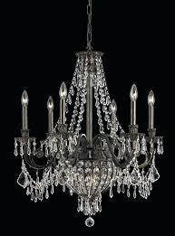 crystal and bronze chandelier 9 lights wrought iron crystal chandelier style selections 3 light antique bronze
