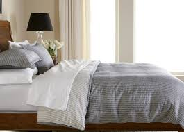 ... Verano Ticking Stripe Duvet Cover Bedding Pictures With Amazing Blue  For Blue Ticking Bedding Bedding Sets ...