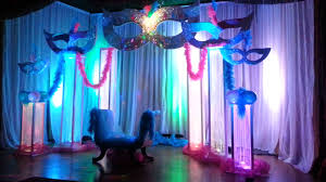 Mask Theme Party Decorations Masquerade Party Theme by Party Professionals USA YouTube 3