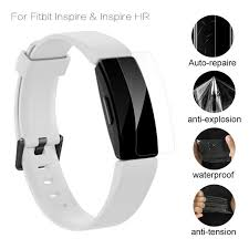 For Fitbit Inspire HR <b>Screen Protector</b> Anti scratch Soft TPU <b>HD</b> Ultra ...