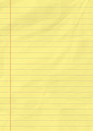 Yellow Legal Pad Template