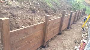retaining walls wooden wood retaining wall help building construction room wood retaining walls