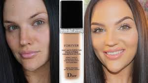 dior forever perfect foundation review demo