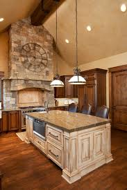 exceptional wood cabinets kitchen 4 wood. rich natural wood kitchen holds this large contrasting light island at center exceptional cabinets 4 w
